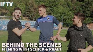Behind The Scenes with Patrik Schick & Dennis Praet    The Journey Vlog #4