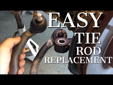 2007 – 2013 Mazda CX-7 Tie Rod Replacement – DIY How To