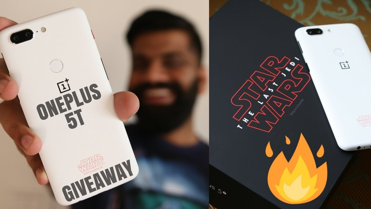 OnePlus 5T Star Wars Limited Edition Unboxing and First Look *GIVEAWAY*
