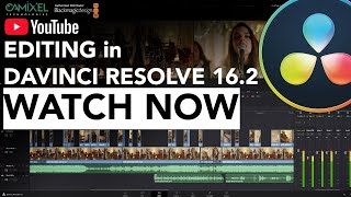 Editing in Davinci Resolve 16.2 | Cut Page Complete walkthrough | Crash Course