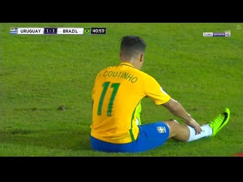 Philippe Coutinho vs Uruguay (Away) (WC Qualifiers) 2017 HD