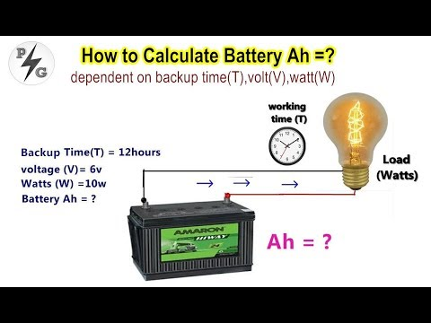 how-to-calculate-battery-capacity--ah-/-dependent-on-backup-time(t),-volt(v),-watt(w)--(part---3)
