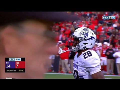 Jeremy Larkin 24-YD TD Run vs. Nebraska