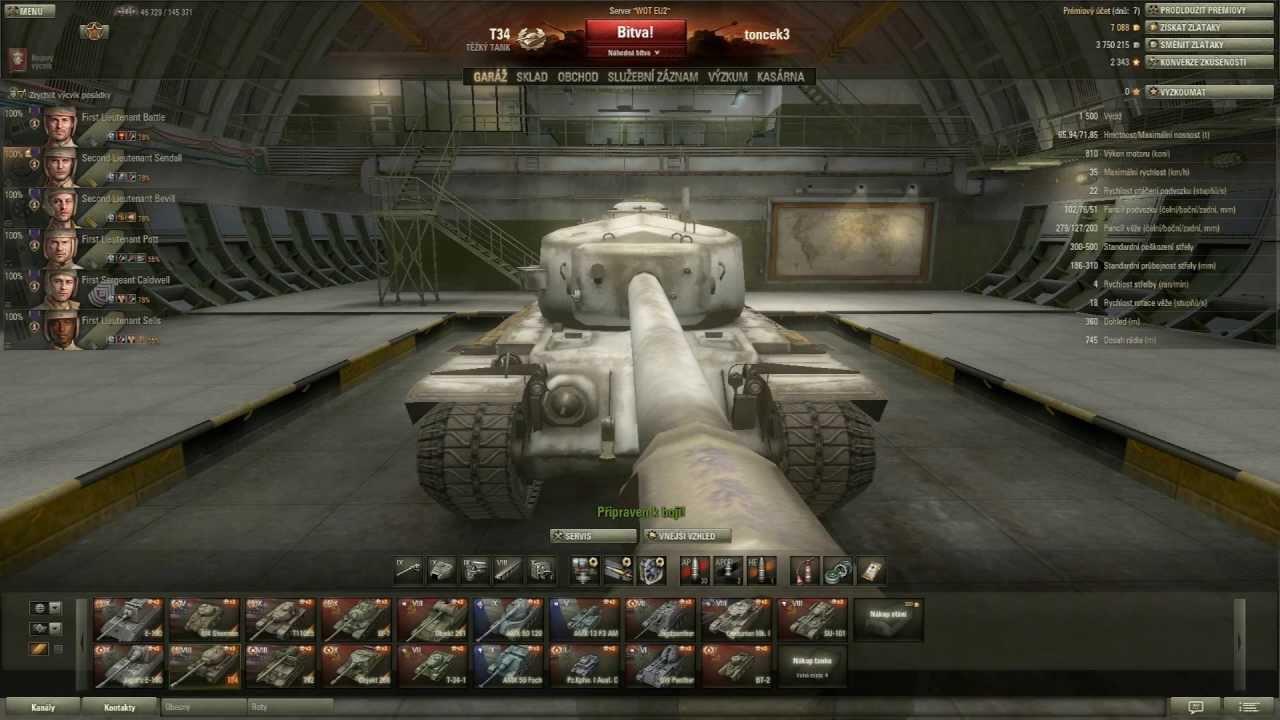 Download World of Tanks CZ - T34