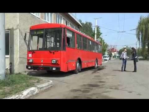 Вісник міського голови. Подарунок до Дня міста — новий тролейбус