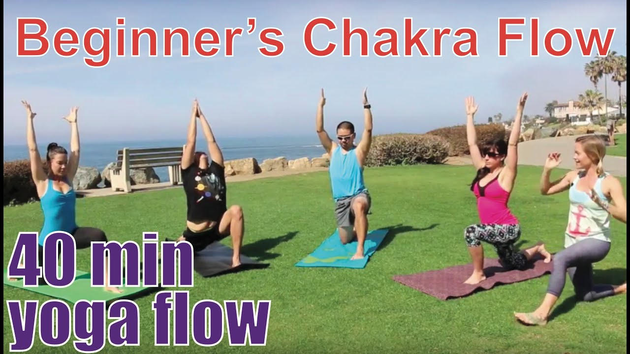 40 Minute Yoga Class - Beginner's Chakra Flow