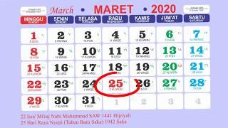 Gambar cover SKB 3 Menteri Libur Nasional dan Cuti Bersama Tahun 2020