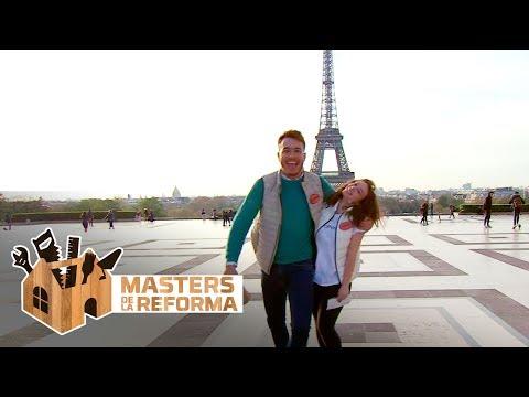 De la Torre Eiffel al Arco del Triunfo, la gran yincana de los finalistas - Masters de la reforma
