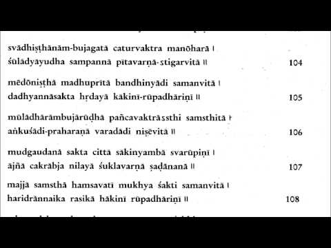 Learn Sri Lalita Sahasranaam in English with proper rhythm in 25 just minutes a day!
