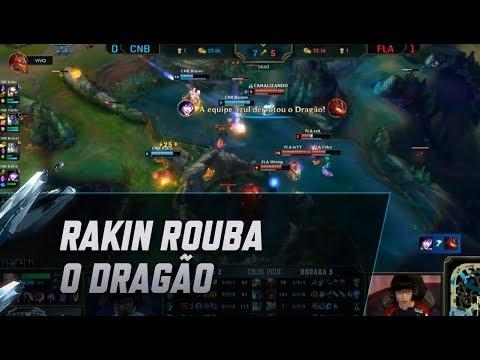 Rakin rouba o Dragão com a Morgana