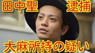 田中聖 大麻所持の疑いで逮捕、過去にはロンブー淳が抜き打ち薬物検査の...