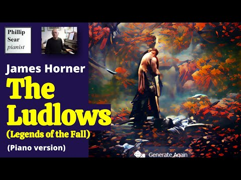 James Horner: ' The Ludlows ' , From ' Legends Of The Fall' Soundtrack - Piano Version