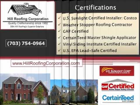 Quality Roofing in Fairfax, VA-Hill Roofing-703-754-0964
