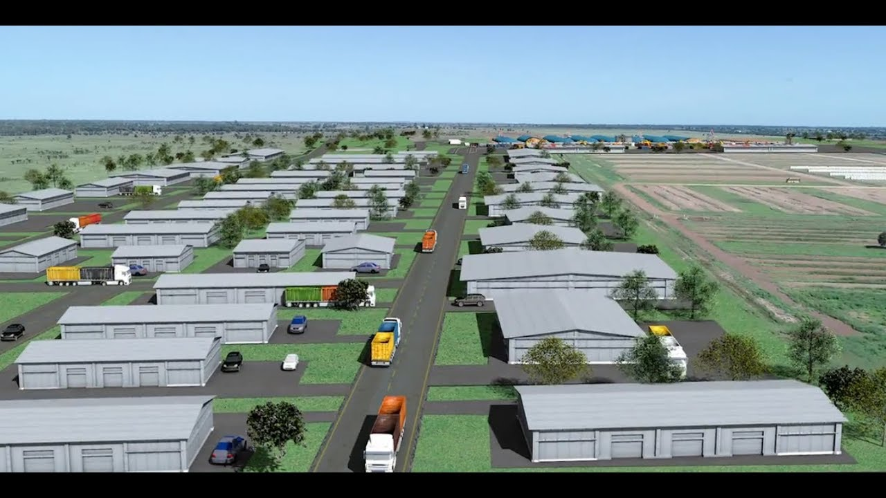 CQ INLAND PORT | Linking Rail to Roads