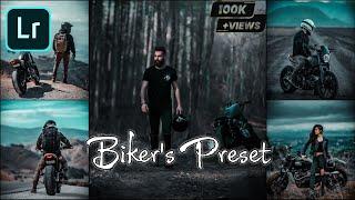 How to edit Biker's Preset - lightroom mobile preset | Preset for biker | Lightroom tutorial screenshot 4
