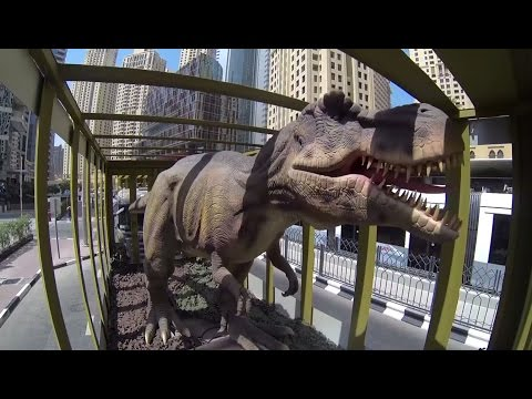 DINOSAURS HAVE ARRIVED IN DUBAI !!!