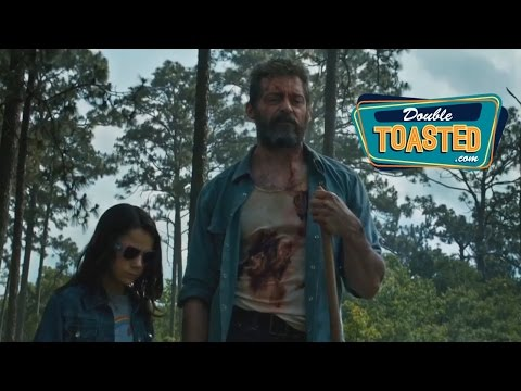 LOGAN MOVIE TRAILER REACTION - Double Toasted Highlight