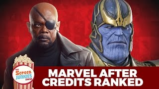 Best MCU After Credits Scenes Ranked!