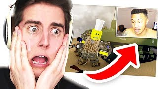 Reacting to Reacting to THE LAST GUEST - A Sad ROBLOX Movie