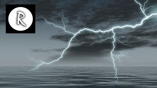 10 Hours EPIC THUNDER & RAIN | Rainstorm Sounds For Relaxing, Focus or Sleep | White Noise | 4K