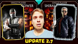 MK Mobile. Update 2.7 Detailed Review. Secret Diamond Character REVEALED! Future Packs Preview.