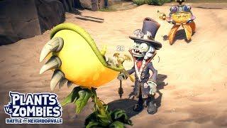 Zen Sensei & Baron Von Bats Battle - Plants vs. Zombies Battle for Neighborville - Gameplay Part 48