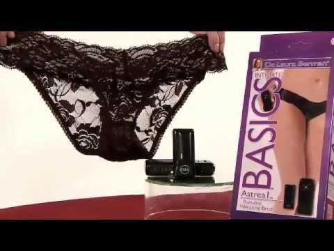 Berman Center Intimate Accessories – Astrea Vibrating Panty Product Demo