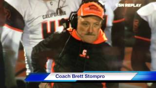 Brett Stompro Football Coach