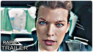 THE ROOKIES Official Trailer (2021) Milla Jovovich, Action Movie HD