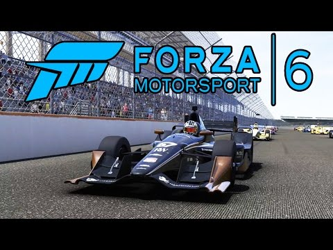FORZA 6 INDY Car Race Gameplay 1080p HD Xbox One