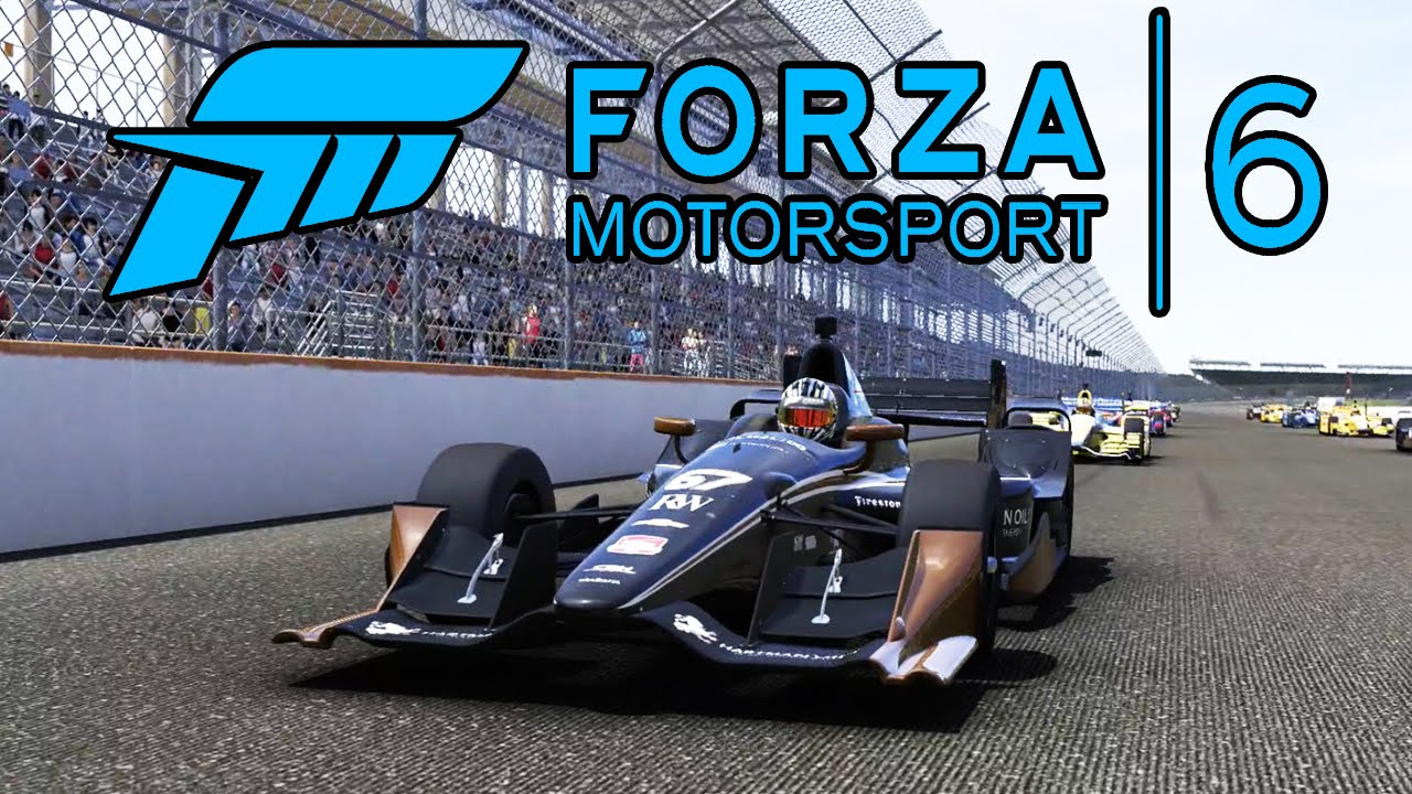 Race Car Wallpaper 1080p Forza 6 Indy Car Race Gameplay 1080p Hd Xbox One Youtube
