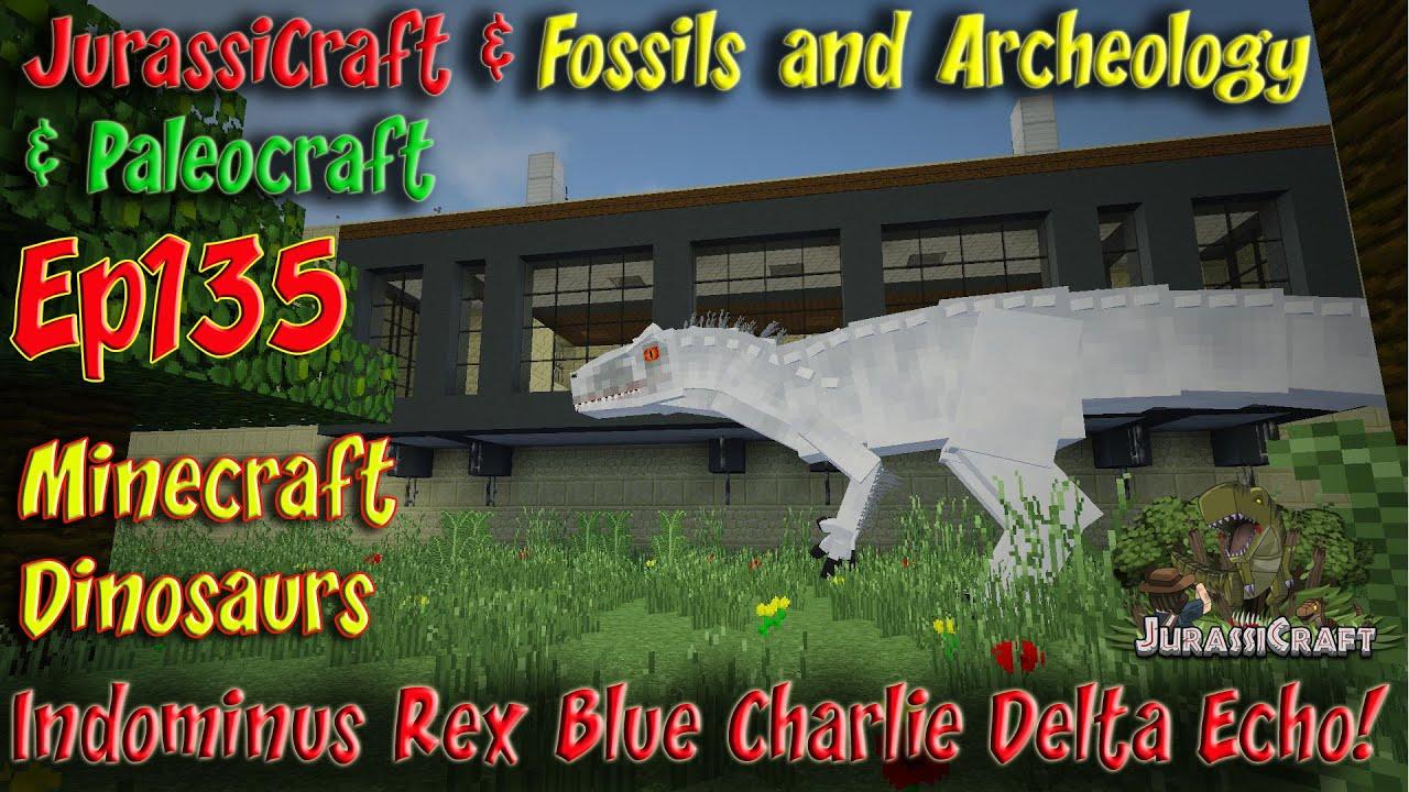 Indominus Rex Jurassicraft 2 0 Jurassic World Ep135 Irex