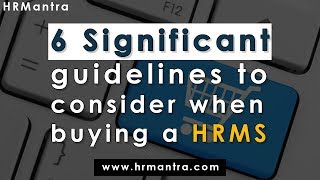 Hrmantra is the world's most feature rich hr and payroll software helping automate complicated of hire to retire processes easily using its crore...