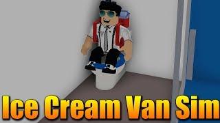 Ich baue MEINE EIGENE BARBELL MIT ICE-Creme! 😱😍🍦 Roblox Ice Cream Van Simulator