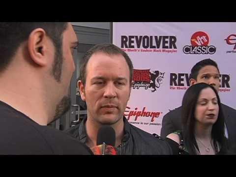 DETHKLOK's Brendon Small Interview at Revolver Golden Gods 2010 on Metal Injection