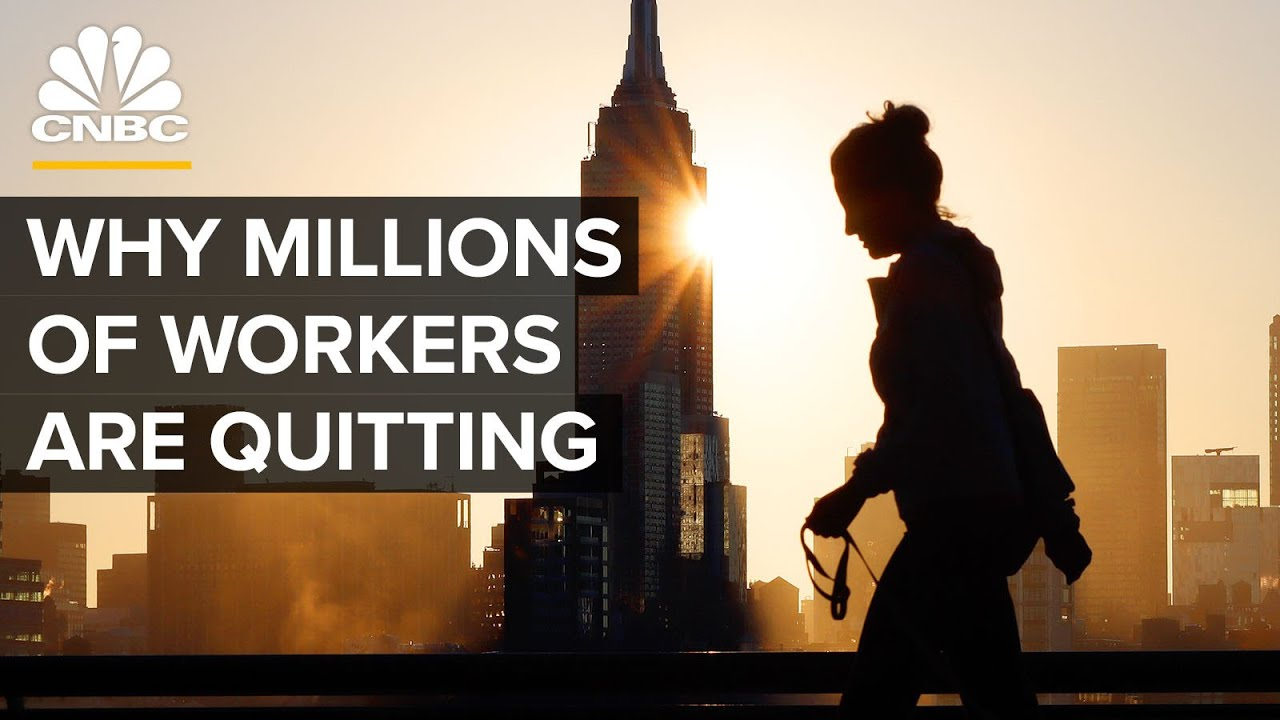 Download The Great Resignation: Why Millions Of Workers Are Quitting