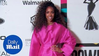 Kelly Rowland rocks hot pink at Black Women in Hollywood Awards