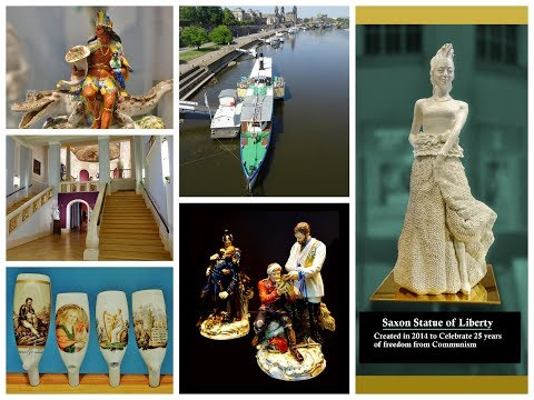 Meissen Germany - Fantastic Porcelain and paddle-boat ride on the Elbe