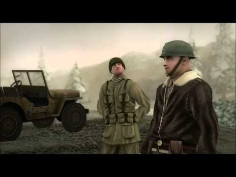 Rush for Berlin Western Allies cutscene 1-2