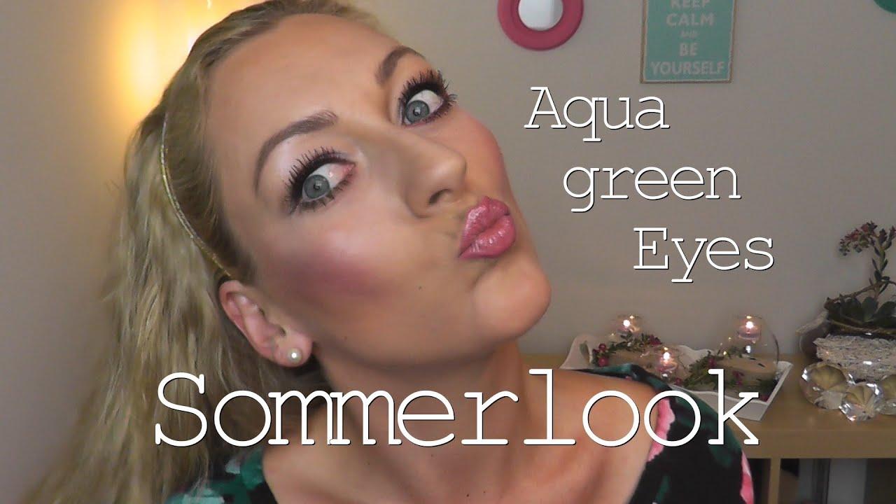 Does anyone else have aqua green eyes? | Yahoo Answers
