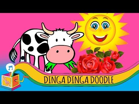 Dinga Dinga Doodle   Nursery Rhyme   Karaoke