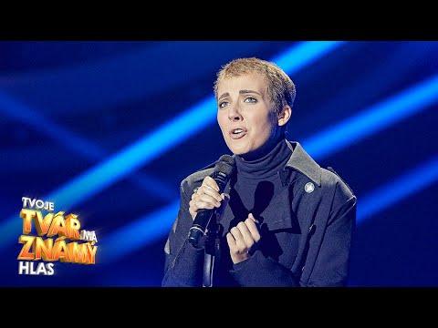 """Anna Slováčková Jako Sinéad O'Connor - """"Nothing Compares To You""""   Tvoje Tvář Má Známý Hlas"""