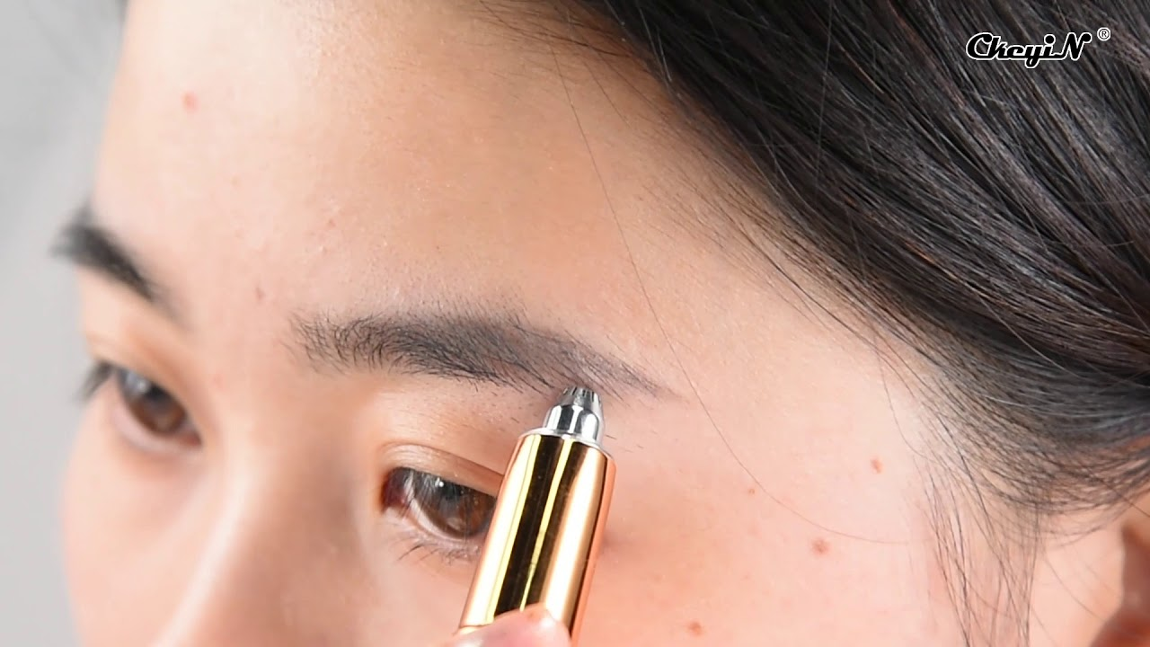 Electric Eyebrow Trimmer for Both Women and Men ...