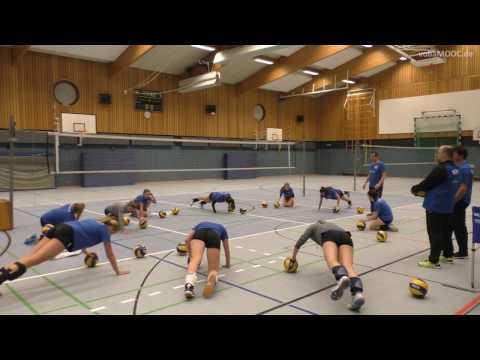 Trainingsbeginn und Aufwärmen beim SC Alstertal-Langenhorn e.V.