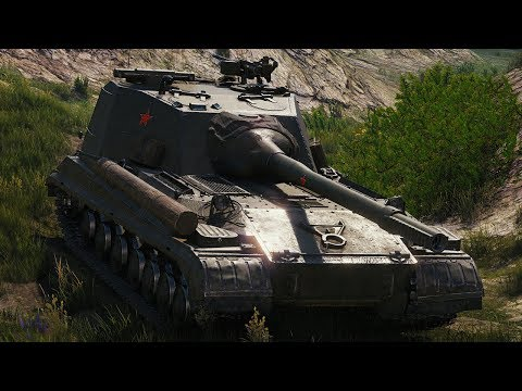 World of Tanks Object 268 Version 4 - 5 Kills 12K Damage