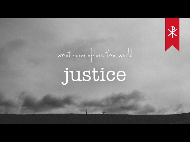 28 March 2021 Livestream | What Jesus offers the world - Justice