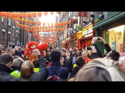 Lion Dance ~ Chinese New Year 2014 ~ Chinatown London
