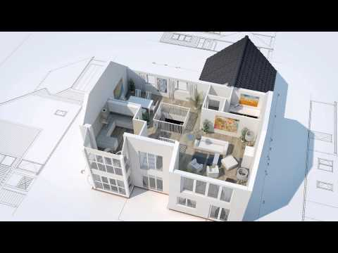 3D House Animation