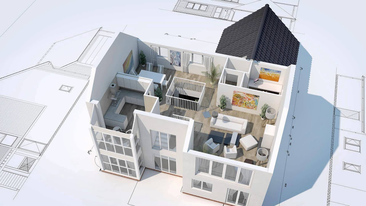 Apartment Block Floor Plans 3d House Animation Youtube