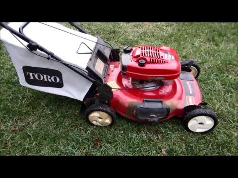 Toro Recycler Personal Pace 22 Quot Lawn Mower Model 20017